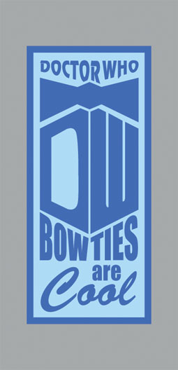 Doctor Who Bow Ties Are Cool graphic