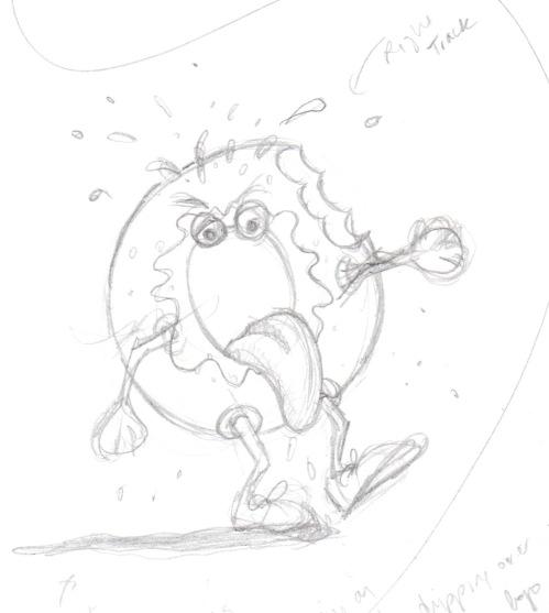 donut sketch