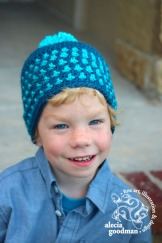 Little Textures Beanie pattern by Two Brothers Blankets ©2015 alecia goodman to present