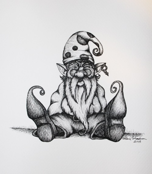 gnome drawing