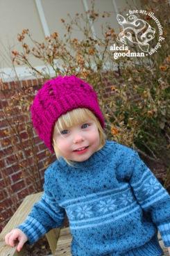 crochet hat kid