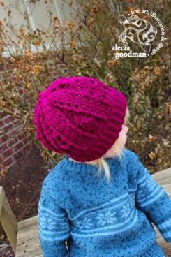 crochet hat child