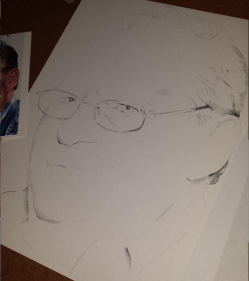pencil portrait update