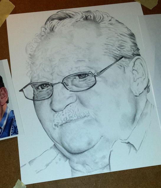 pencil portrait drawing update