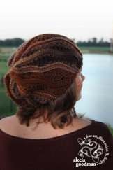 Chelsea Waves Slouch crochet hat