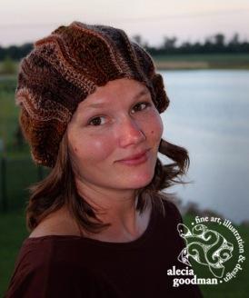 crochet Chelsea Waves slouch