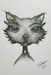 Ink drawing Cat