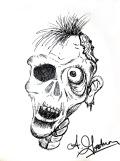 inktober zombie drawing