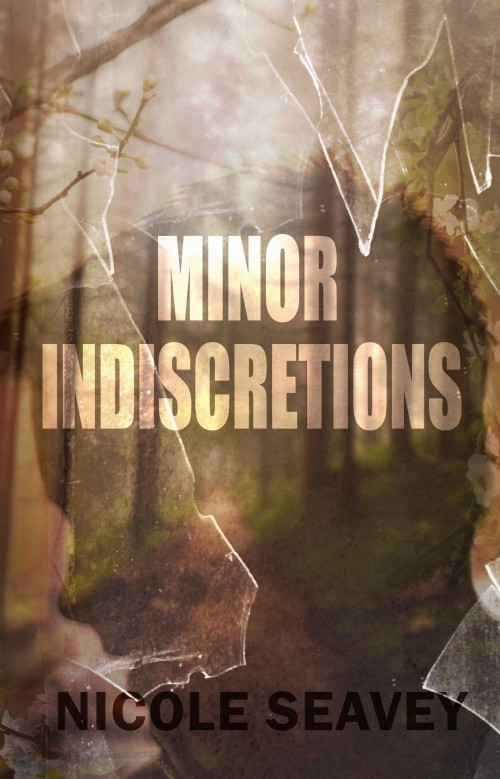 Minor Indiscretions by Nicole Seavey Book Cover designed alecia goodman